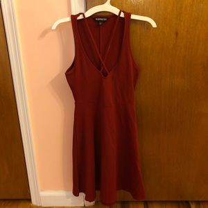 New Express Skater Dress (XXS)